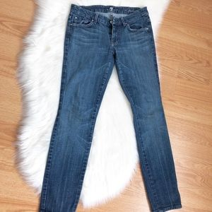 7 for all mankind denim jeans 28 A pocket women